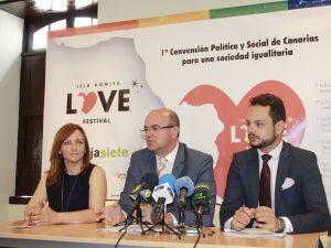 La primera convención política y social de Canarias arranca el 'Isla Bonita Love Festival' con 100 asistentes