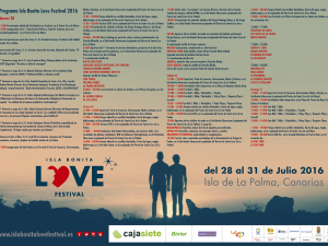 Programa del Isla Bonita Love Festival