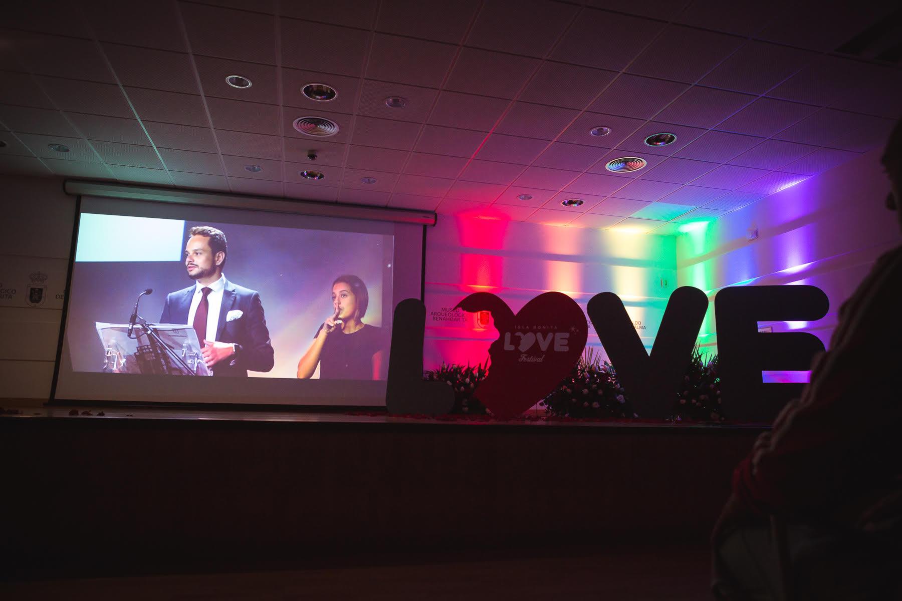 Acto de presentación del Isla Bonita Love Festival 2017