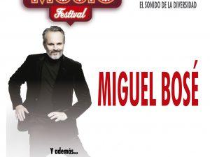 Miguel Bosé encabeza el Love Music Festival, el evento más potente del verano en Canarias.
