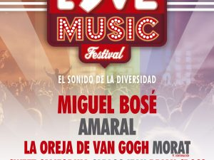 El Love Music Festival se convertirá en el mayor evento musical del verano con 7 conciertos en 12 horas.