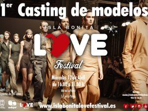El Isla Bonita Love Festival seleccionará 150 modelos palmeros para su pasarela.
