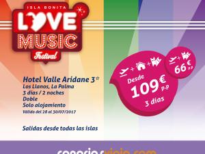 CanariasViaja.com se suma al Isla Bonita Love Festival con ofertas especiales.