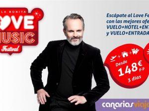 Canariasviaja.com supera las previsiones de venta a más de un mes para la celebración del Love Festival.