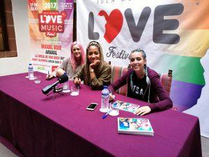 Las Sweet California comparten un meet & greet con sus fans en La Palma.