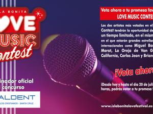 "El Isla Bonita Love Festival impulsa la carrera de 3 promesas musicales canarias a través del ""Love Music Contest"""