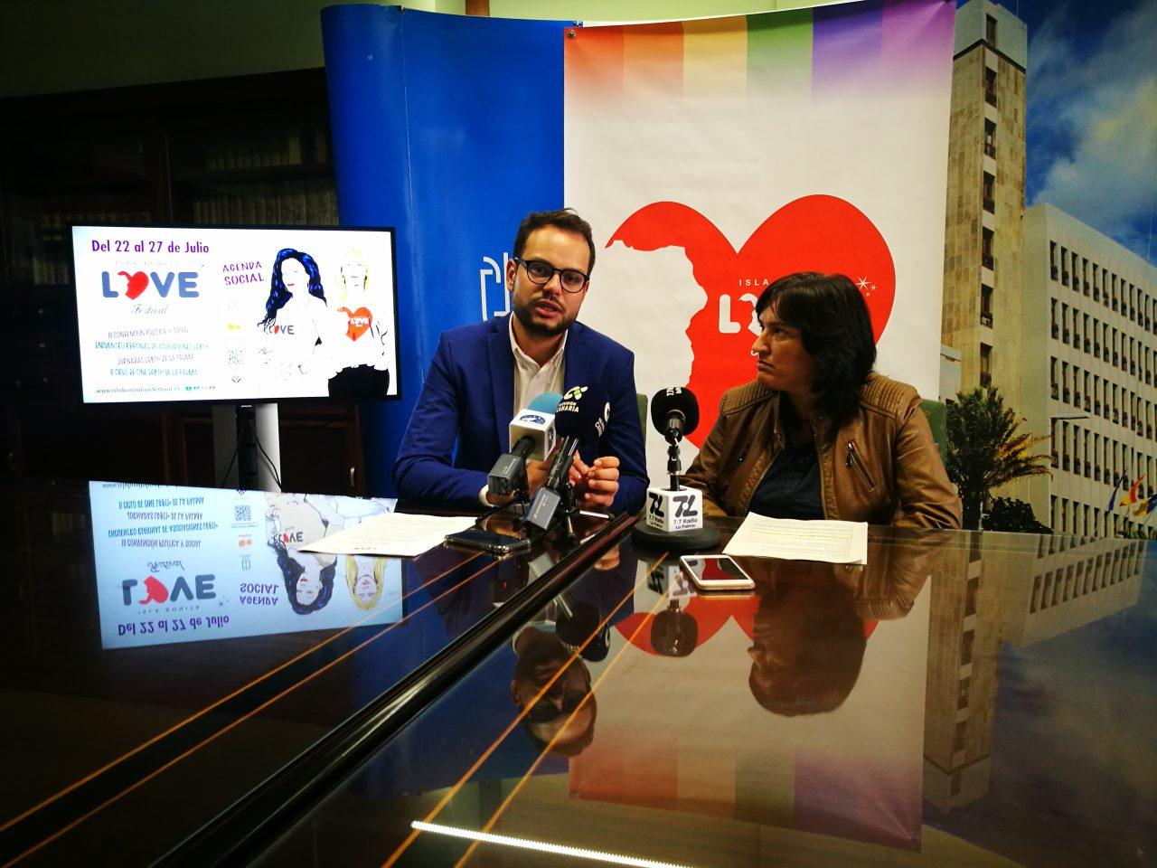El Isla Bonita Love Festival y la Asociación Violetas presentan el 1º Encuentro Regional de Asociaciones LGTBI+ en La Palma