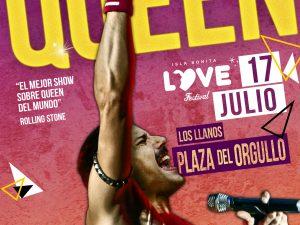 DSR – Queen abrirá la semana del Isla BONITA Love Festival con un homenaje a Freddie Mercury en Los Llanos
