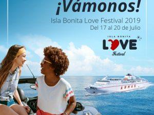 Isla BONITA Love Festival; el único evento de España con barco propio gracias a Naviera Armas