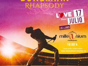 """""""Bohemian Rhapsody"""" llenará las tres salas de Multicines Millenium en el homenaje a Queen del Isla BONITA Love Festival"""